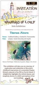 First Solo Exhibition For Therese Alcorn